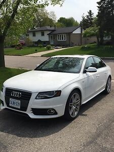 2012 White Audi A4 S-line Sports Package