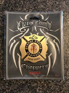 Orange Country Choppers New York Firefighters Badge
