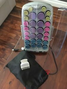 Babyliss professional ionic / ceramic hot rollers with clips