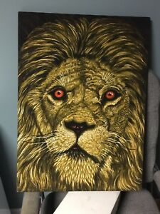 Lion painting!