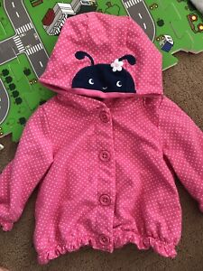 6-12 months hoodie for a girl