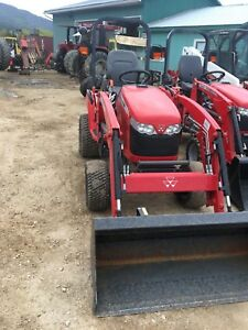 2015 Massey Ferguson GC1715 loader tractor, 93hrs