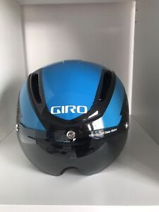GIRO AIR ATTACK ROAD BIKE RACE HELMET W/CARL ZEISS LENSED