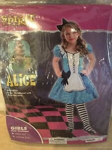 Like New, Child's Alice in Wonderland Costume