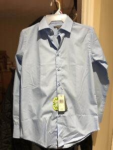 Boys Light Blue Dress Shirt (Size 14) - BRAND NEW!