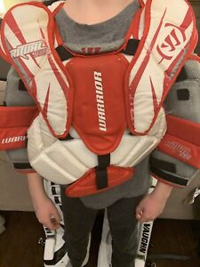 Warrior Goalie Chest Pad Youth Small