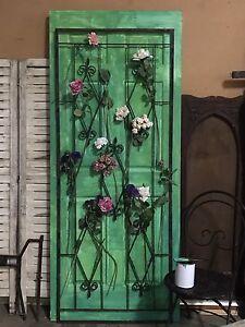 Exotic Green wooden door Myaree Melville Area Preview