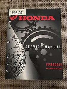 1998-99 Honda VFR800FI Interceptor Service Manual