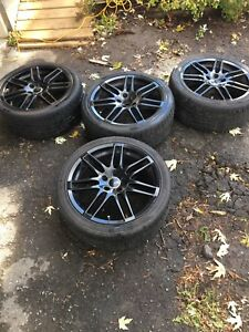 "Audi 18"" RS4 replica wheels"