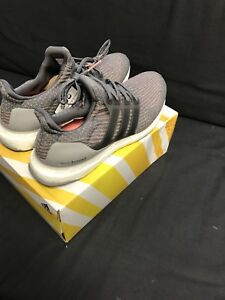 Adidas ultra boost grey four trace pink size 11