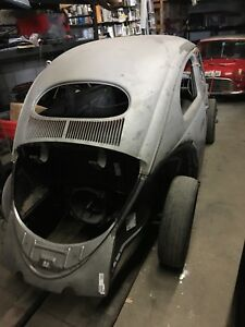 56 vw Oval Canadian Standart Beetle , needs bodywork and paint
