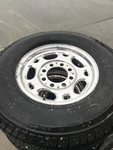 Chevy 3500 rims and tires