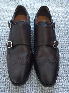 9948fc5d7d4 Bally Double Strap Monk Shoes