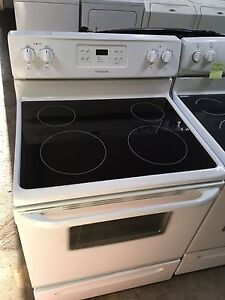 2 year old frigidaire glass top stove