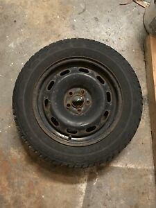195/65 15 winter tires and steel rims, set of 4