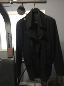 Mens wool blend Calvin Klein CK coat jacket
