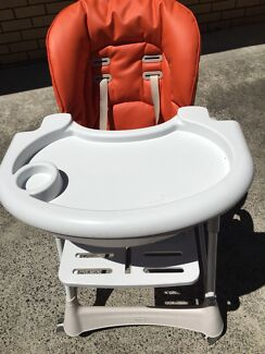 Steelcraft Messina DLX High Chair - Dove almost new