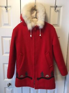 HUDSON'S BAY Vintage 100% Virgin Wool Women's Jacket  $175.00
