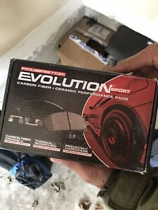 Brake pads and rotor