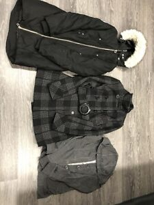 Orb sweater and jackets