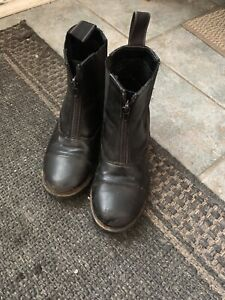 Youth riding boots and chaps