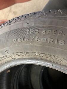 4 pneu 215/60/16