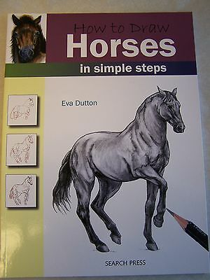 How To Draw Horses Book Art Simple Steps