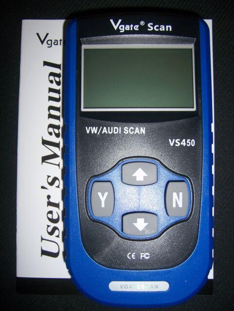 Diagnostic reset check engine oil service light tool for VW/Audi/Skoda ABS SRS