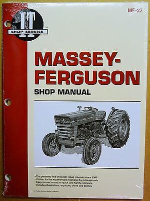 Massey Ferguson Service Manual Mf135 Mf150 Mf165 Tractors Mf-27