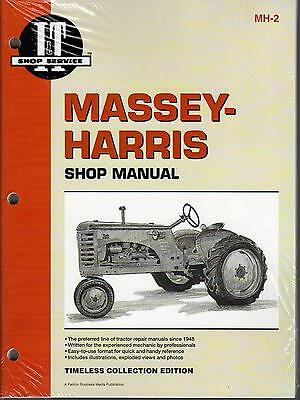 Massey-harris It 20223044558182101102201 Tractor Service Manual Mh-2