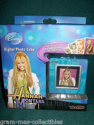 Digital Photo Cube Hannah Montana Hold 70 Prints70 Photos Disney