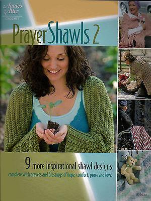 Prayer Shawls 2 More Inspirational Designs Afghans Throws Crochet Pattern Book