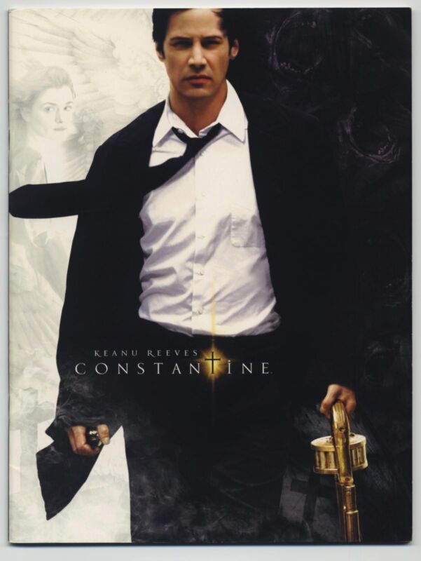 Constantine JAPAN PROGRAM Francis Lawrence, Keanu Reeves, Rachel Weisz, M. Baker