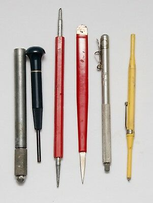 Vintage Dentist Lot - 6 Dental Instruments Tools Mix Brand