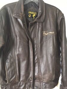 New Winter Leather Jacket $35  (small)