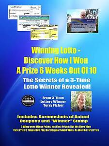 Winning Lotto - How I Won Lotto 6 Weeks Out of 10, incl Proof Gold Coast Region Preview