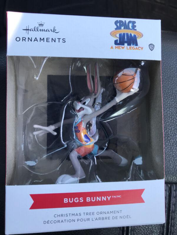 2021 Hallmark Space Jam A New Legacy Bugs Bunny Christmas Tree Ornament WB