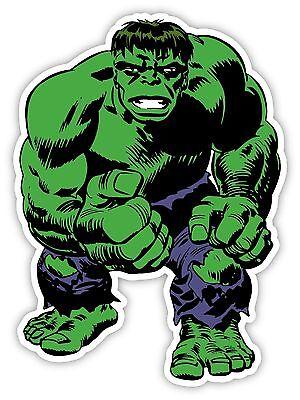 INCREDIBLE HULK Sticker Decal *3 SIZES* Comics Art Vinyl Bumper Wall - Hulk Decal