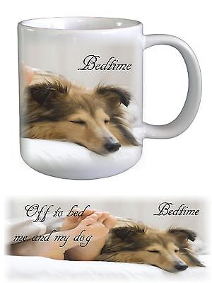 Sheltie Shetland Sheepdog Dog Ceramic Mug by paws2print
