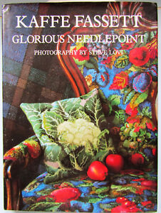 Kaffe Fassett Glorious Needlepoint Hardback large book Excellent condition