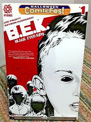BEK Black Eyed Kids Halloween Comicfest Special Comic 2016