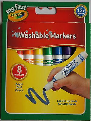 Crayola My First Washable Marker- CRL-8109