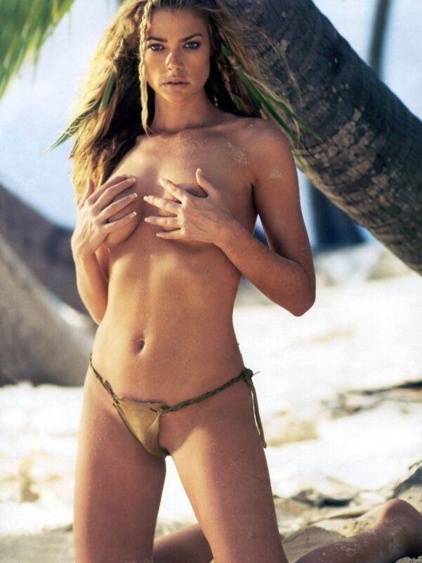 Denise Richard Model Actress Beach Scene 8x10 Glossy Photo Print