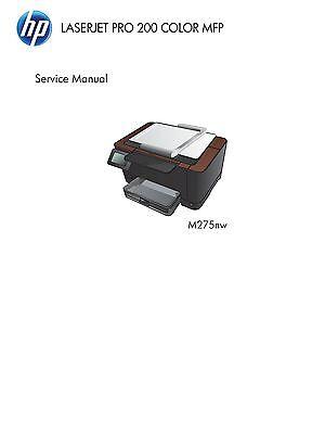 HP Color LaserJet Pro 200 MFP M275 - Service Manual PDF