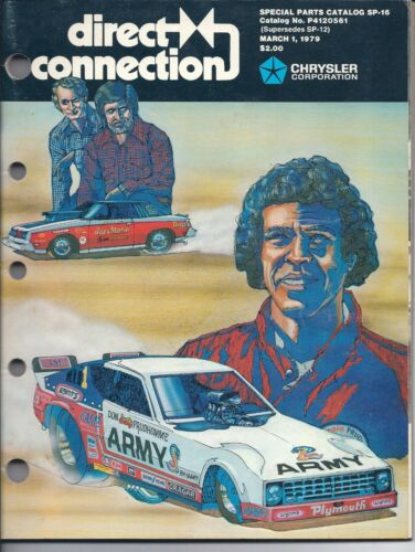 NOS Vintage 1979 Mopar Direct Connection Performance Catalog Sox & Martin Snake