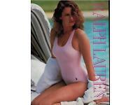 1985 RALPH LAUREN Swimwear ISABELLE TOWNSEND Magazine Print Ad