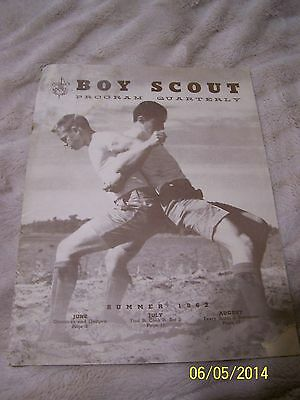 1962 Boys Scouts Program Quarterly Summer