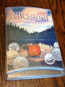 Oh! Canada uncirculated coin set 1999 - Royal Canadian Mint