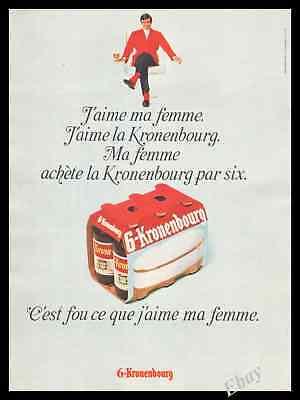 1968 James Bond 007 George Lazenby  Beer  Art Armchair Original Print Ad   Z1