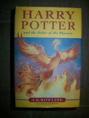 Harry Pottery and the Order of the Phoenix, First Edition - J K Rowling for sale  Morpeth